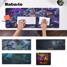 Babaite Vintage Cool League of legends  Locking Edge Mouse Pad Game Free Shipping Large Keyboards Mat