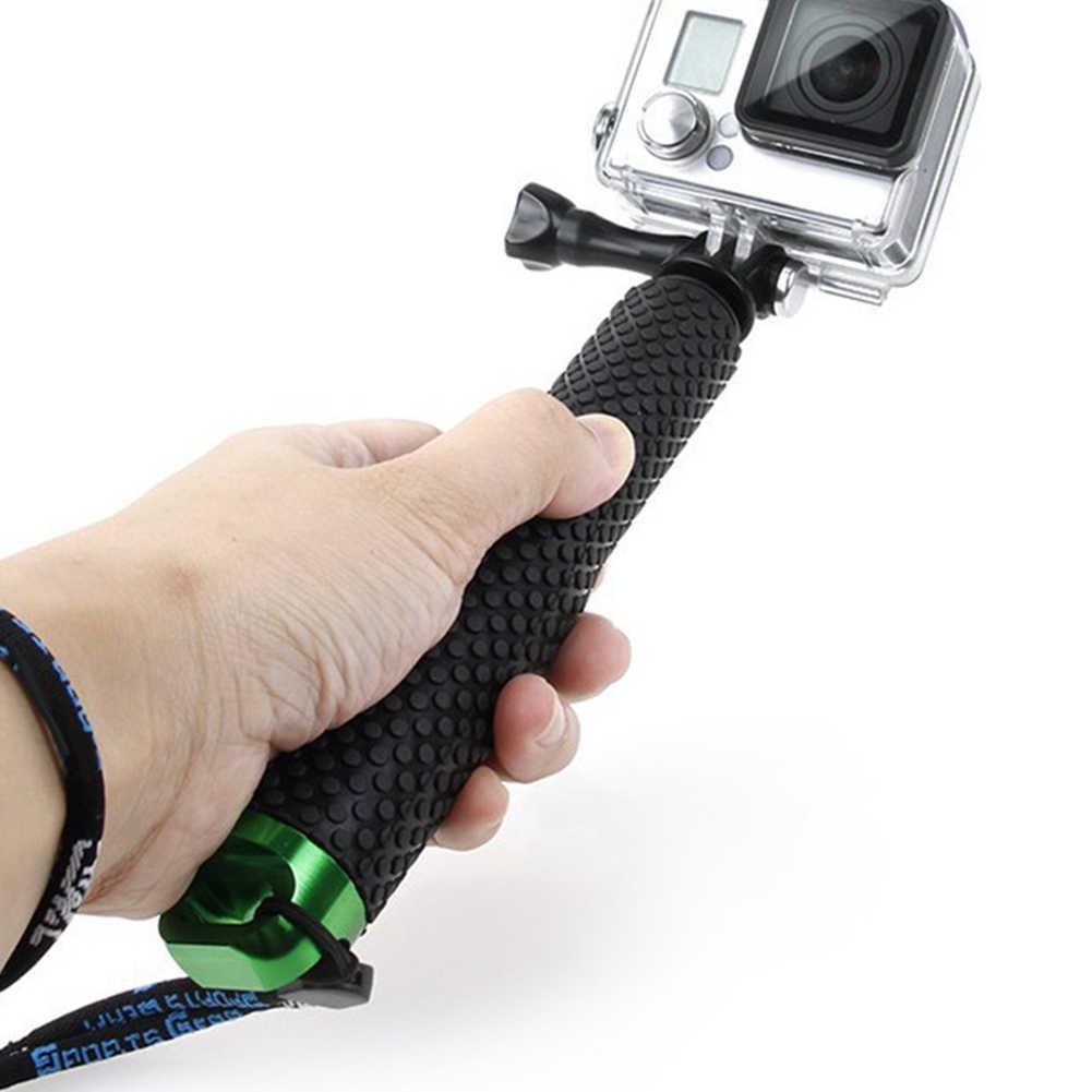 Новый Портативный Ручной Автоспуск камера монопод шлем держатель камеры для GoPro