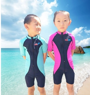 Children Professional Sport One Piece Bathing Suits for Beach Pool Training Swimwear Boy's and Girl's Racing CompetitiveSwimSuit beach bag for children