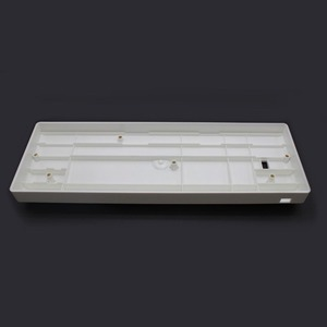 Image 4 - Wholesales מיני מקלדת GH60 פלסטיק מקרה עבור 60% משחקים מכאניים מקלדת תואם Poker2 Pok3r Faceu 60 פלסטיק פגז