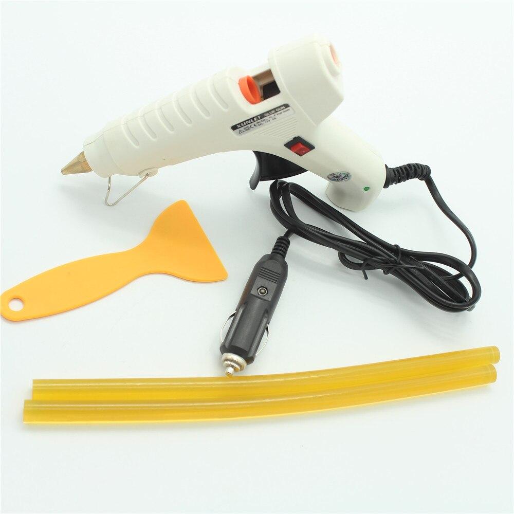 Auto PDR herramientas de abolladura sin herramientas de la reparación 28x pegamento Dent pestañas martillo abajo pluma conjunto de herramientas de mano para coche herramienta de Herramentas - 6