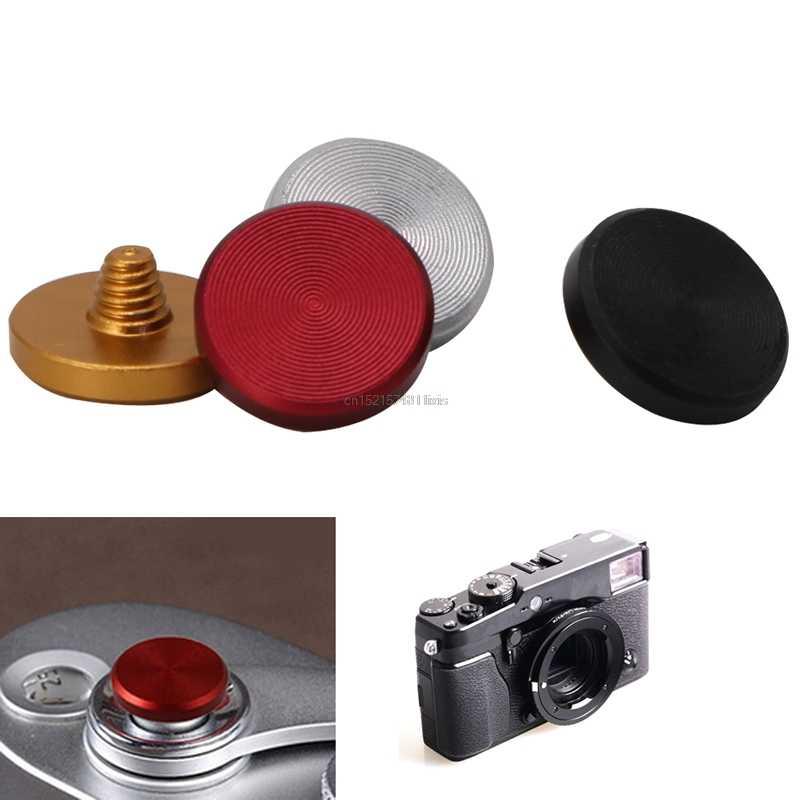 4PCS 10 mm Diameter Concave Metal Soft Shutter Release Button for Leica M 2L 1X