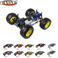 HSP 1:8 Scale Nitro Off Road Monster Truck Remote Control Off Road Truck 94083 1/8th
