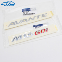 for hyundai Elantra AVANTE MD body logo English standard double sided adhesive tape M16 GDI Avante