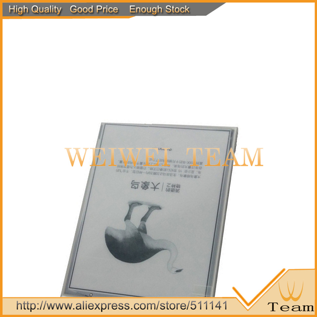 NEW Original E Ink Pearl HD Display for kobo aura 6 Inch E-book Erader E-Ink LCD Screen Glass Panel Ebook replacement