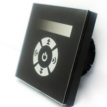 TM11E Европейский стандарт сенсорный ТРИАК диммер для Светодиодный регулировки яркости, высокое напряжение AC90-240V 1 канал 2 Вт шлейф-край затемнения