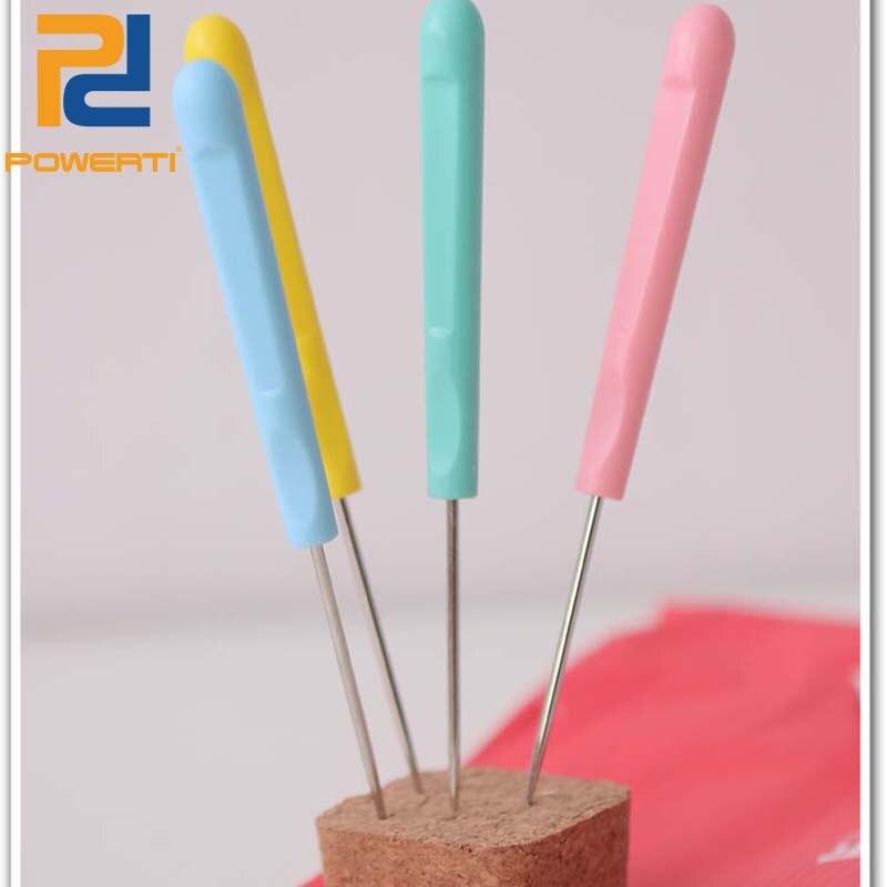 Powerti 3pcs/lot Awl Tennis Racket String Machine Tools Stringing Mover for Tennis&Badminton Racket Tools