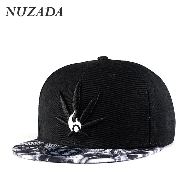 Brands NUZADA Sports Travel Men Women Baseball Caps Embroidery Patterns Personality Punk Hip Hop Hats Snapback Cap Bone jt-144