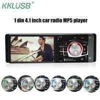1 DIN Car Radio 4012B HD 4 1 Inch Digital Screen Car Stereo Bluetooth Music FM