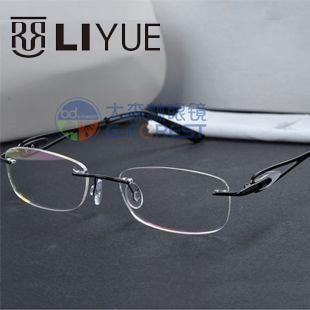 a6a383eaa8 fashion glasses frame spectacles women rimless brand stainless steel eyeglasses  vintage prescription eyewear myopia glasses 5028-in Eyewear Frames from ...