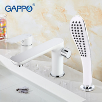 GAPPO New Modern Bathroom Waterfall Bathtub Sink Faucet Torneira Mixer Cold Hot Water Restroom Tap Grifo