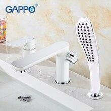 GAPPO new modern bathroom waterfall bathtub sink faucet torneira mixer cold&hot water restroom tap grifo hand shower faucet set