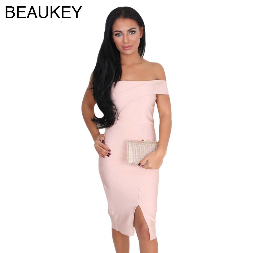 Buy bodycon dress light pink and get free shipping on AliExpress.com f8eed5d77496