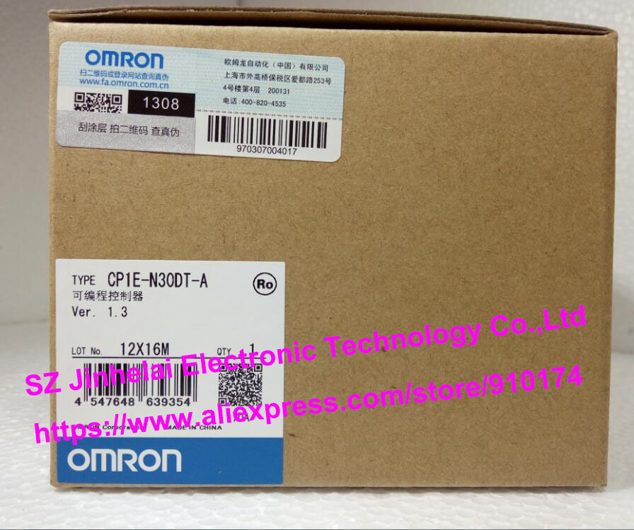 все цены на  New and original CP1E-N30DT-A  OMRON  PLC controller  онлайн