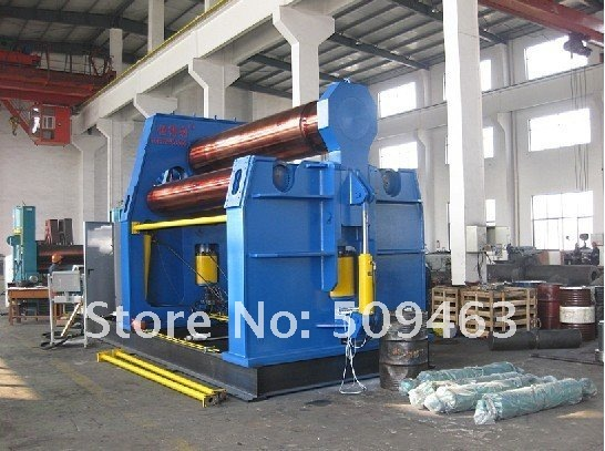 CNC hydraulic bending forming moulding machine with  four roller