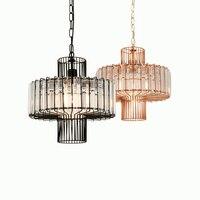 Post-modern Luxurious Iron Crystal Nest E27 Table Lamp For Dining Room Living Room Bar Dia 32cm AC 80-265v 1441