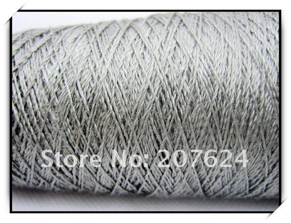 Good Conductive  250*2 SS316L Fiber Sewing thread Wholesale / Retail  1KG