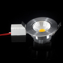 Brightness Dimmable Led Downlight COB 3W 5W 7W Ceiling light Spotlight AC110/220V Recessed Spot light  Fixtures For Home