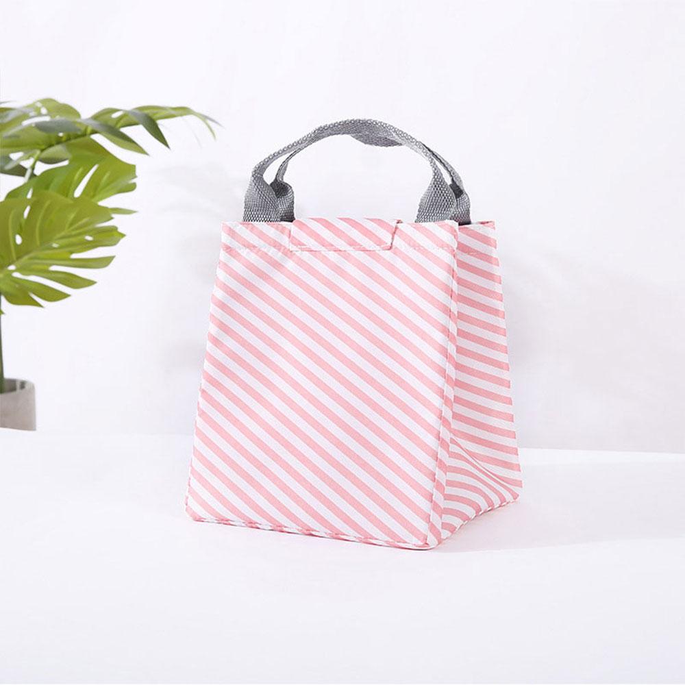 Сумка для хранения пикника Оксфорд Фламинго узор Сумочка еда путешествия фрукты теплоизоляция сумка водостойкая Bento