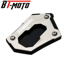 For BMW R1200GS LC/LC ADV 13-18 Moto CNC Side Stand Pad Enlargement Plate Kickstand Extension R1200GS Rallye R1250GS 2018-2019