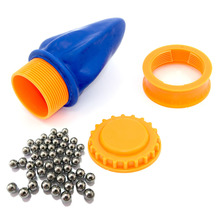 High Powerful Pocket Shot  Hunting Camping Survival Set 8mm 5/16″ steel ball Shooting Replacement Pro Pouches