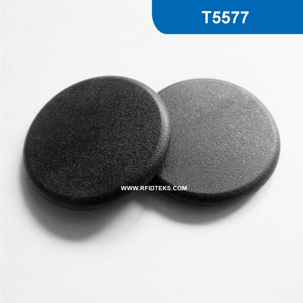 G24 Dia 24mm  Proximity Smart RFID Industry Tag for Asset Tracking and Logistics  125khz 125KHZ 330 BITS R/W with T5577 Chip 1000pcs long range rfid plastic seal tag alien h3 used for waste bin management and gas jar management