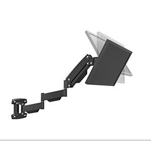 "Image 5 - BL LG312B Ultra long Gas Spring Arm Wall Mount Monitor Holder Full Motion Heavy Duty 17 27"" LCD TV Mount Bracket Loading 2 9kgs"