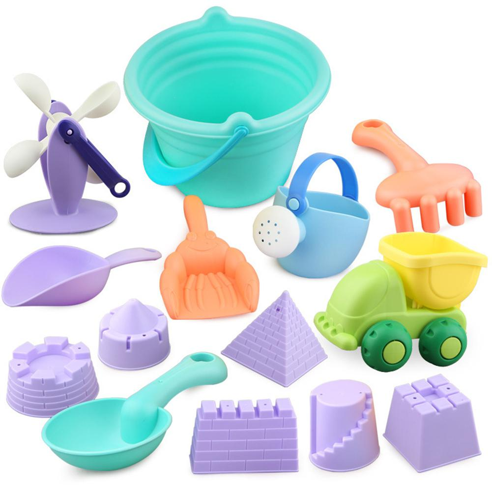 RCtown Children Beach Sand Play Toys Set Bathing Playing Watering Play Bath Toys Random Color Zk30