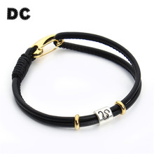 DC 2018 New Virgo/Sagittarius/Aquarius/Scorpio/Libra 12 Constellation Leather Bracelets Men Zodiac Horoscope Charm Bracelets