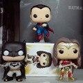 Funko POP Knightmare Batman VS Superman Batman 89 # Mujer Maravilla DC amanecer de Heroes Justicia 10 cm PVC Colección Modelo de Juguete En la acción