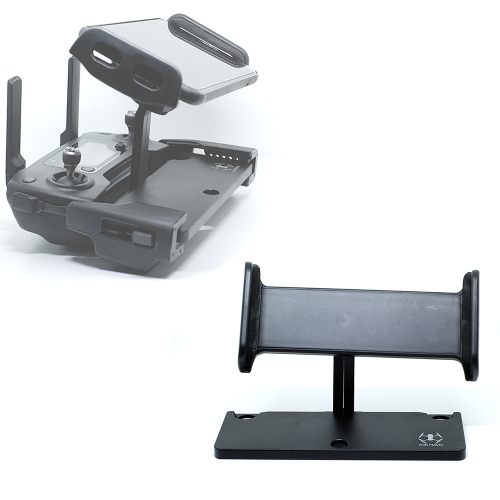 For DJI Mavic Pro,Spark remote control Accessories 4-12 For iPad Mobile Phone Holder aluminum Flat Bracket tablte stander Parts
