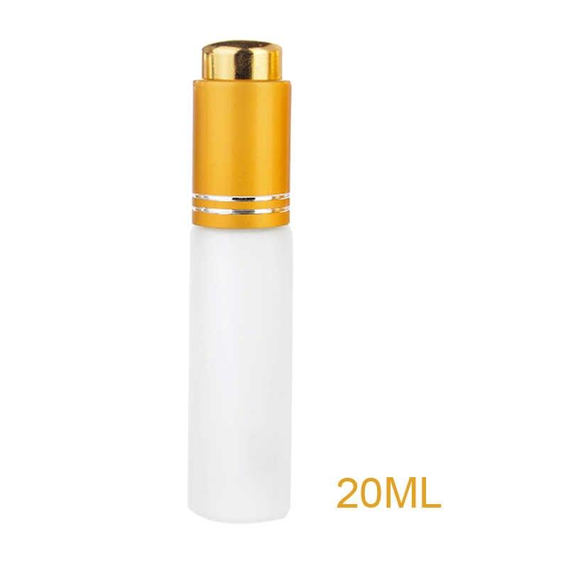 Liplasting Mini 20 ml Seyahat Taşınabilir Boş Doldurulabilir Buzlu Cam Konteyner Pompası Basın Dağıtıcı Losyon Emülsiyon Sıvı