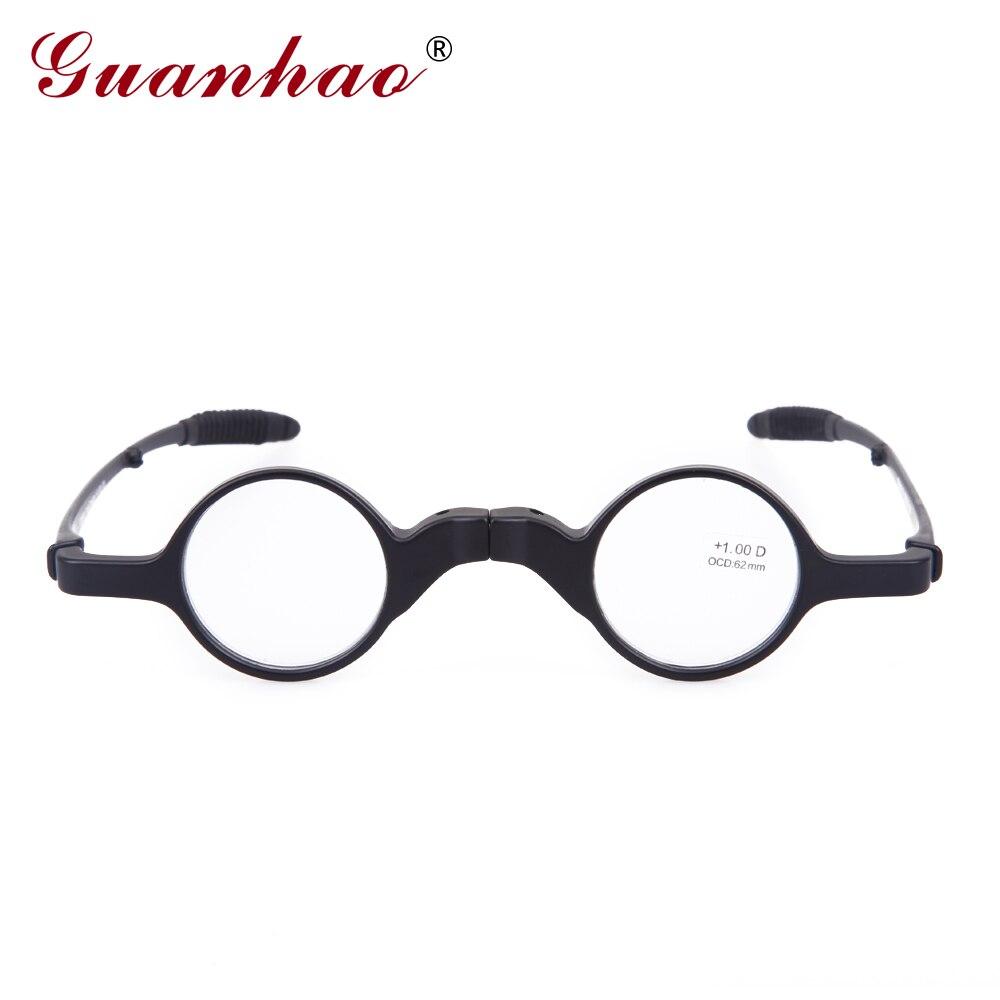 Guanhao Vintage Lesebrille Faltbare Männer Frauen TR90 Rahmen - Bekleidungszubehör - Foto 2