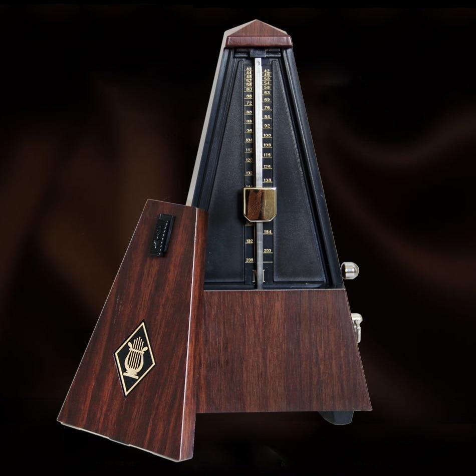 Gitarre Metronom Online Mechanische Pendel Mecanico Holz farbe für Gitarre Klavier Violine Musical Instrument