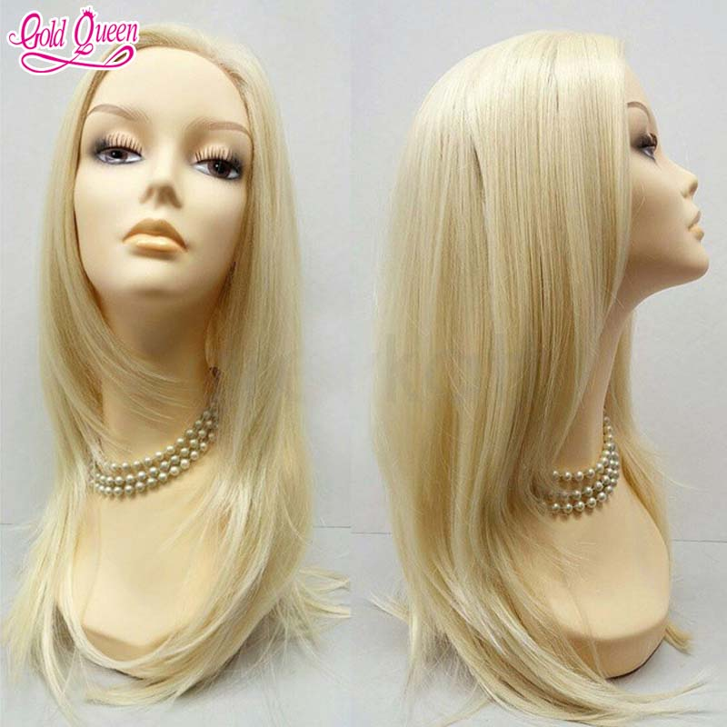 7A Best Gold Queen Hair Products Blonde Full Lace Wigs