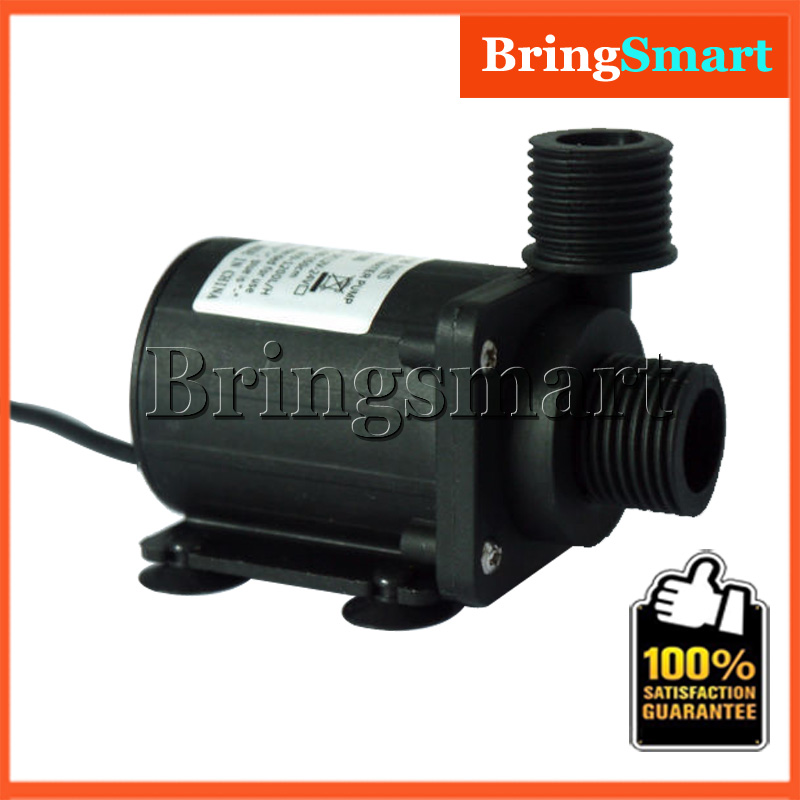 JT-800B 900L/H 7M Booster Pump 12V DC Brushless Water Pump Submersible Fountain Self-priming Pump 24V