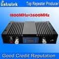 AGC MGC Pantalla LCD 4G LTE 70db 2600 MHz + 1800 MHz GSM 4G Potenciadores de la Señal de doble Banda 1800 2600 Señal de Teléfonos Celulares Móviles repetidores