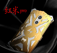 Simon THOR IRONMAN Shockproof Outdoor Metal Back Cover For Xiaomi Redmi Pro Aluminium Frame Anti Knock