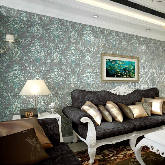 Luxry 3d papel de parede Damascus crystal 3d wall wallpaper rolls European wall paper living room sofa background wallcoverings 3d bookshelf wallpaper rolls for study room of american vintage chinese style background 3d wall paper papel de parede