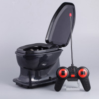 Halloween Fun rc toilet toy for children adult antistress anti stress Radio control gift Novelty Gags Practical Jokes funny