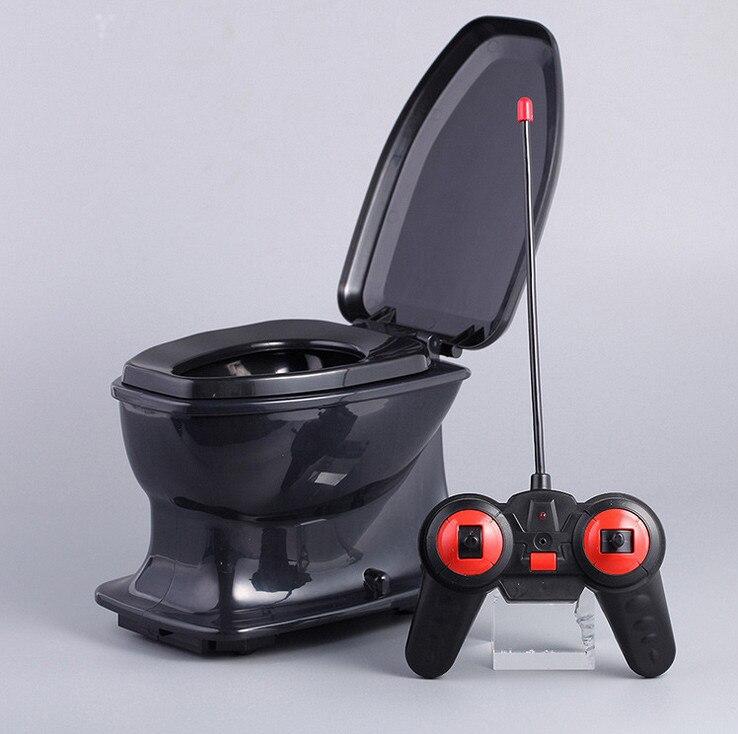 Halloween Fun rc toilette jouet pour enfants adulte anti-stress anti-stress Radio contrôle cadeau Nouveauté Gags Plaisanteries Pratiques drôle