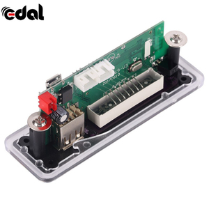 EDAL беспроводной Bluetooth MP3 декодирующая плата модуль с слотом для sd-карты/USB/FM/дистанционный модуль декодирования