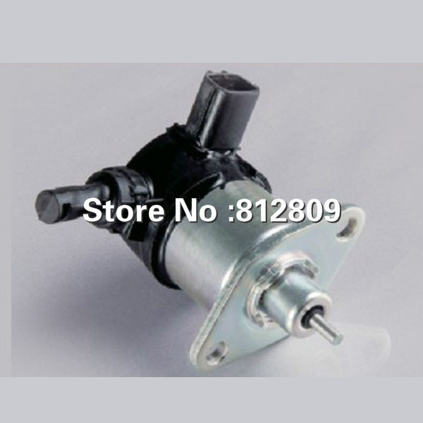 Engine spare parts flame out solenoid 17208-60016Fuel Shut Off Stop Solenoid Fits V1505 V1305 fuel shut off solenoid valve coil 3964624 fits excavator engine