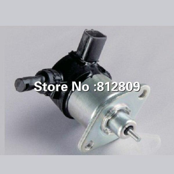 Le solénoïde d'arrêt de carburant du solénoïde 17208-60016Fuel de pièces de rechange de moteur s'adapte à V1505 V1305