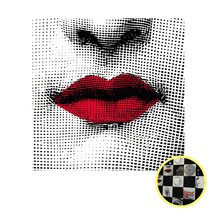 Creative European Transparent Tile Sticker Fornasetti Design Square Waterproof Bathroom/kitchen Wall Decorative Glass/tile Decor