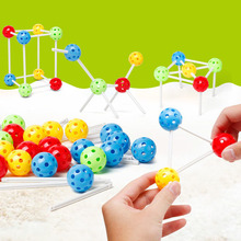 New Variety Inserted Beads Block Building Blocks ABS Kids Educational Toys Plug Bead Toy Magical Beads стоимость