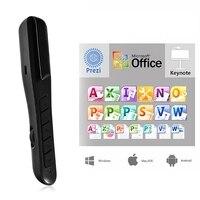 2.4 GHz USB Laser Pointer Oplaadbare PPT Clicker Powerpoint Presenter Laser Pen Air Mouse