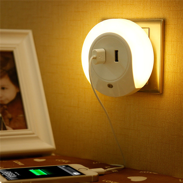 Night Light Mobile Phone Charger