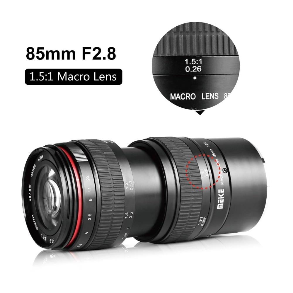 MEKE 85mm f/2.8 Handmatige Focus Full Frame Lens voor Olympus ...