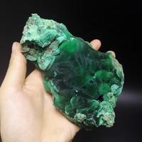 680 г натуральный Камни и минералов рок Малахит Азурит образца Кристалл редких руды уникальные образцы Зеленый Синий minera B212